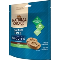 Natural Choice Grain Free Lamb & Potato Dog Treats, 8 oz - 8 Pack