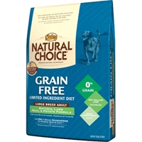 Natural Choice Grain Free Large Breed Dog Food Lamb & Potato, 24 lb