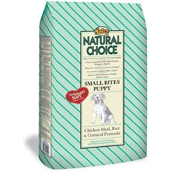 Natural Choice Small Bites Puppy Food Chicken, Rice & Oatmeal, 35 lb
