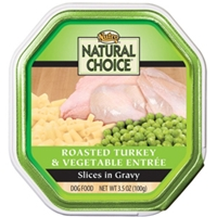 Natural Choice Turkey & Vegetable Entree, 3.5 oz - 24 Pack