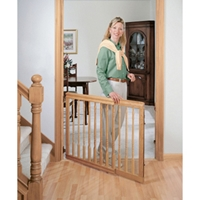"Natural Oak Decor Swing Gate, 31"" x 32"""