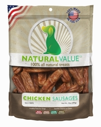 Natural Value Chicken Sausages, 14 ounces