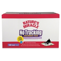Nature%27s Miracle No Tracking Absorbent Pads, 100 ct