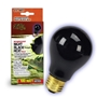 Night Black Heat Incandescent Bulb 100W Boxed