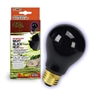 Night Black Heat Incandescent Bulb 75W Boxed
