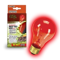 Night Red Heat Incandescent Bulb 50W Boxed