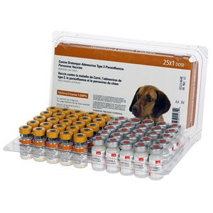 Nobivac Canine 1-DAPPv (5 Way) 25 ds tray