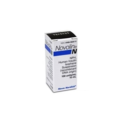 Novolin N Insulin 100 units/ml, 10 ml Vial