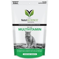 Vetri-Science Nu Cat Multivitamin, 30 Bite-Sized Chews