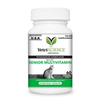Vetri-Science Nu Cat Senior Multivitamin, 60 Chew Tabs