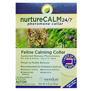 NurtureCALM 24/7 Pheromone Collar for Cats, 15""