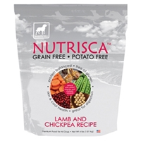 Nutrisca Chicken & Chickpea Dry Dog Food, 4 lb - 6 Pack