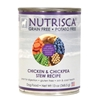 Nutrisca Chicken & Chickpea Stew Canned Dog Food, 13 oz - 12 Pack