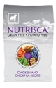 Nutrisca Grain and Potato Free Dog Food, Chicken & Chickpea, 28 lbs
