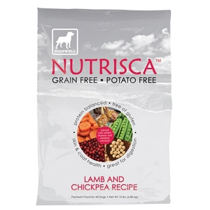 Nutrisca Lamb & Chickpea Dry Dog Food, 15 lb