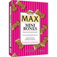 Nutro Max Mini Bones Dog Treats, 23 oz - 12 Pack