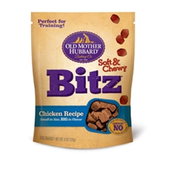 Old Mother Hubbard Chicken Bitz Chewy Dog Treats, 6 oz - 8 Pack