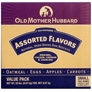 Old Mother Hubbard Classic Assortment Small Dog Biscuits, 20 lb
