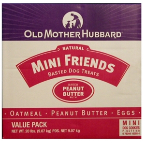 Old Mother Hubbard Mini Friends Dog Treats 20 Lb