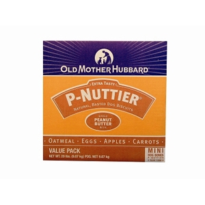 Old Mother Hubbard P-Nuttier Mini Dog Biscuits, 20 lb