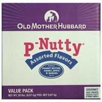 Old Mother Hubbard P-Nutty Assortment Dog Biscuits, 20 lb