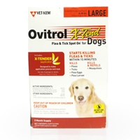 Ovitrol X-Tend for Large Dogs 56-80 lbs, 3 Month (Red)