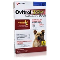 Ovitrol X-Tend for Toy Dogs 6-12 lbs, 3 Month (Blue)
