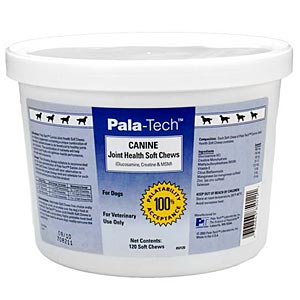 Pala-Tech Canine Joint Health, 120 Soft Chews