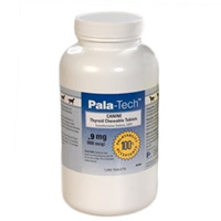 Pala-Tech Canine Thyroid Tablets 0.9 mg, 180 Chewable Tablets