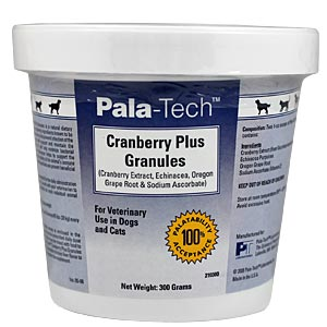 Pala-Tech Cranberry Plus Granules for Dogs and Cats, 300 gm