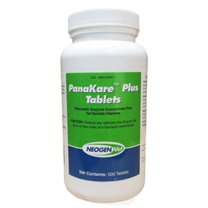 PanaKare Plus Tablets (PancreVed), 500 Tablets