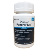 PancrePlus Tabs, 100 Tablets PancrePlus Tabs, PancreaPlus Tabs, PancrePlus Tabs for dogs, dog pancreatic enzymes, dog pancreatic insufficiency, pancreatic enzymes for dogs, cat pancreatic insufficiency, cat pancreatic enzymes, pancreatic enzymes for cats, pet meds, pet medications