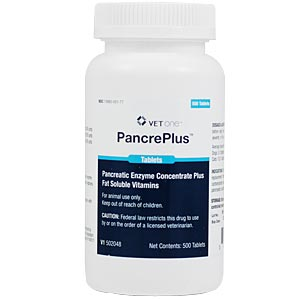 PancrePlus Tabs, 500 Tablets