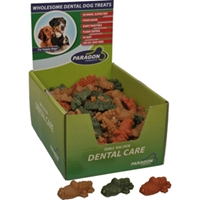 Paragon Small Alligator Dental Chews for Dogs, 100 ct