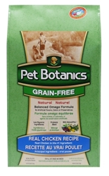 Pet Botanics Grain-Free Healthy Omega Dry Dog Food, Chicken, 25 lbs