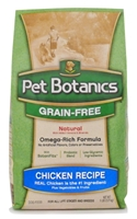 Pet Botanics Grain-Free Healthy Omega Dry Dog Food, Chicken, 5 lbs