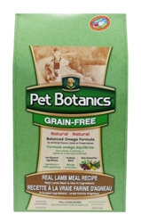 Pet Botanics Grain-Free Healthy Omega Dry Dog Food, Lamb, 25 lbs