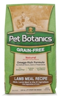Pet Botanics Grain-Free Healthy Omega Dry Dog Food, Lamb, 5 lbs