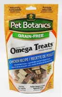 Pet Botanics Grain-Free Healthy Omega Treats, Chicken, 12 oz