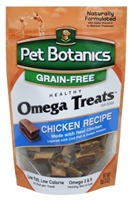 Pet Botanics Grain-Free Healthy Omega Treats, Chicken, 3 oz