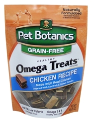 Pet Botanics Grain-Free Healthy Omega Treats, Chicken, 5 oz