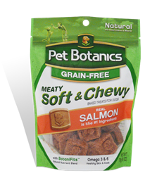 Pet Botanics Grain-Free Healthy Omega Treats, Salmon, 1 oz