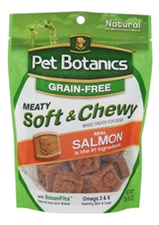 Pet Botanics Grain-Free Meaty, Soft & Chewy Dog Treats, Salmon, 6 oz