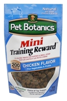 Pet Botanics Mini Training Rewards for Dogs, Chicken, 4 oz