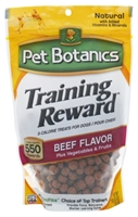Pet Botanics Training Rewards for Dogs, Beef, 20 oz