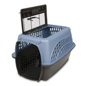 Petmate 2-Door Kennel Blue & Coffee, 24""