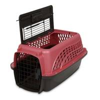 Petmate 2-Door Kennel Rose & Coffee, 19""