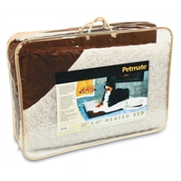 "Petmate 30 x 40"" Heated Bed, Dark Brown"