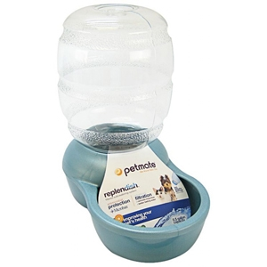 Petmate Replendish Waterer Light Blue, .5 gal
