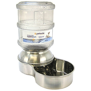 Petmate Replendish Waterer Stainless Steel, 1 gal